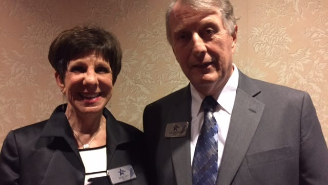 Janet Pry, recently retired as the executive director of the Community Foundation for Crawford County, and  Tom Brennan, recently retired editor of the Mansfield News Journal, were named as North Central Ohio Hall of Excellence honorees Friday night by the North Central State Foundation.