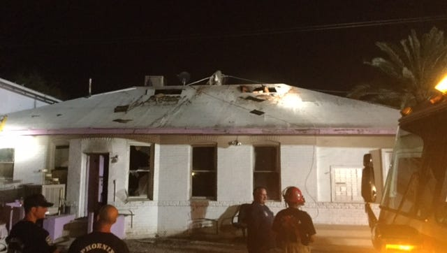 An apartment fire near 19th Avenue and Van Buren Street on April 21, 2016, left several residents displaced, including a child, the Phoenix Fire Department reported.