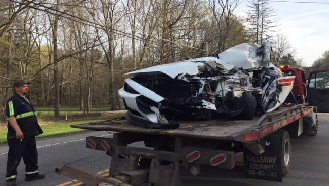 A man was seriously injured Monday at 6:33 a.m. on U.S. 42 north of Hanley Road when his car went left of center, striking a box truck, according to the Mansfield post of the Highway Patrol.