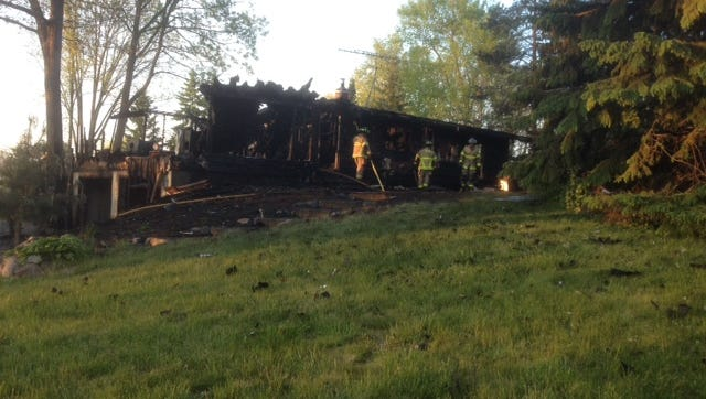 An Iosco Township family lost their pets and their Roberts Road home in a Sunday fire.