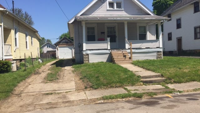 This house was the site of a homicide Sunday night at 267 Auburn Ave., according to Mansfield police.