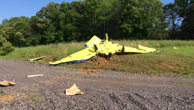 Authorities said an experimental plane crashed in Orange County Tuesday, killing the pilot and a passenger.