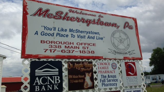 McSherrystown holds the highest population density per square mile in Adams County according to data from the U.S. Census Bureau.