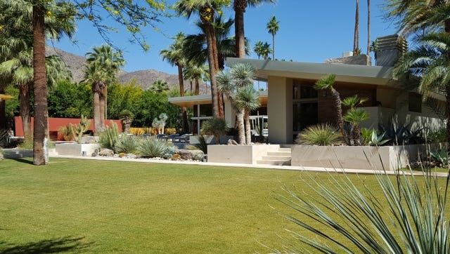 This 2007 house in Old Las Palmas sold in May for $5.75 million, breaking the record for the highest recorded sale in Palm Springs.