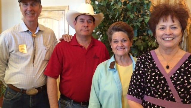 State representatives Bob Thorpe, R-Flagstaff; David Gowan, R-Sierra Vista; Brenda Barton, R-Payson; and state Sen. Sylvia Allen.
