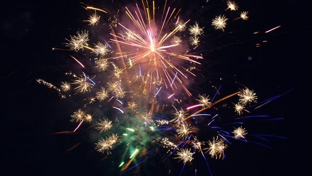 A colorful fireworks display delighted Signature HealthCARE residents, as well as local residents who came out for last year's show.