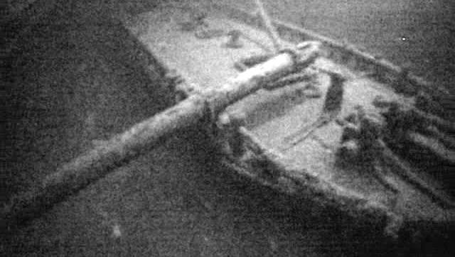 An image of the Royal Albert shipwreck.