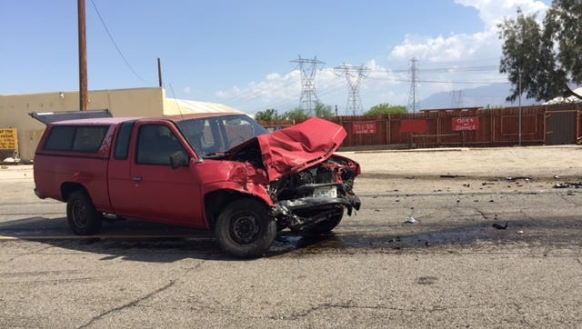 A car crash on Dillon Road west of Little Morongo Road Friday afternoon resulted in major injuries.