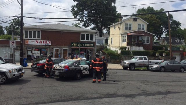 Two Yonkers police officers were seriously injured in a car accident on Kimball Avenue.