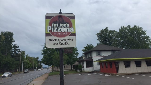 Fat Joe's Pizzeria opened this week after months of preparations.