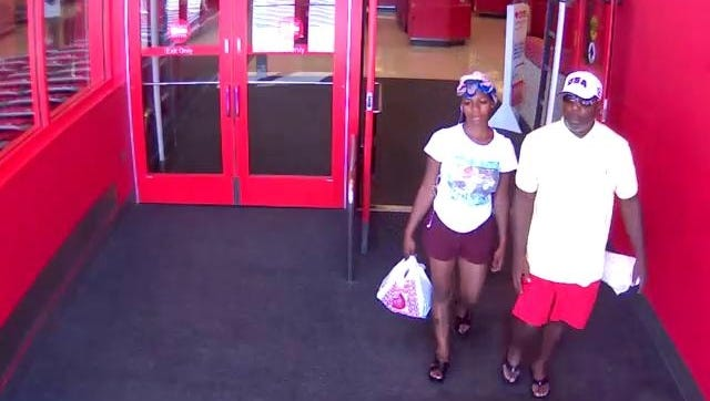 Rehoboth Beach Police are seeking the identities of this couple suspected of credit card fraud.