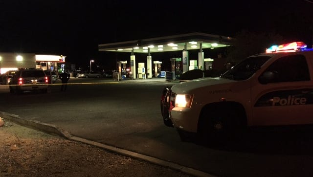 A suspect was shot and critically injured in an officer-involved shooting outside a convenience store in north Phoenix on Sept. 27, 2016.