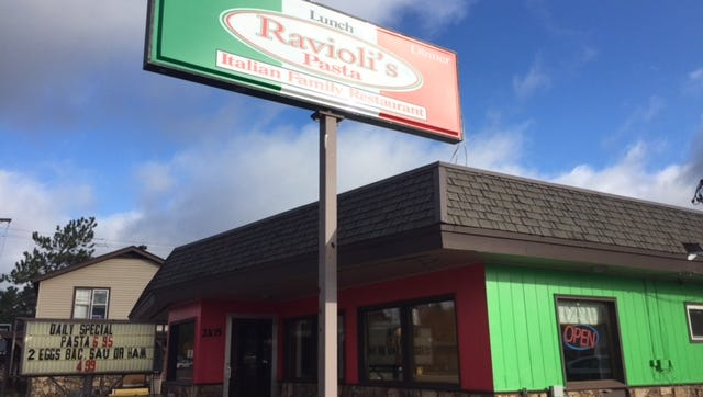 Ravioli's opened at the beginning of October in the former Eagle's Nest location at 2105 Grand Ave.
