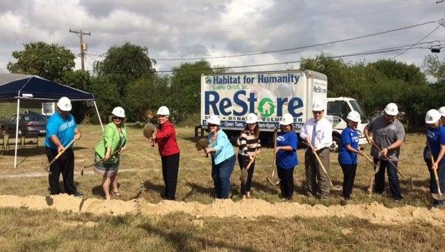 Habitat for Humanity broke ground on its 53rd home project in the 2700 block of Guadalupe Street.
