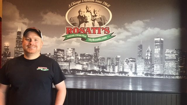 Brian Fruend, the general manager of the Wausau Rosati's.