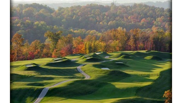 Pete Dye Course in French Lick, Ind.