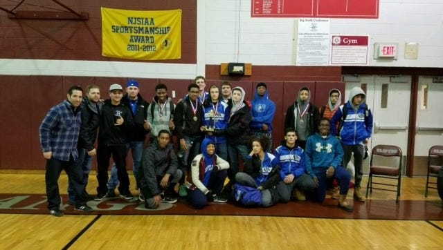 The Montclair high school wrestling team finished third at this past weekend's Clifton Tournament.