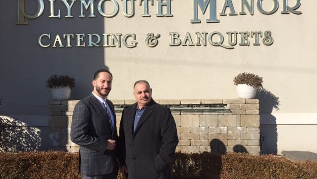 Samer Saad (left) and Mohammed Nawwas have taken the helm at Plymouth Manor.