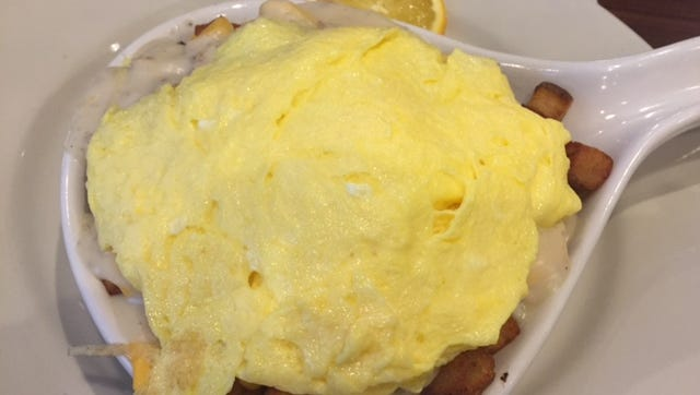 Don Delfis Pancake House & Restaurant's offerings include a breakfast skillet.