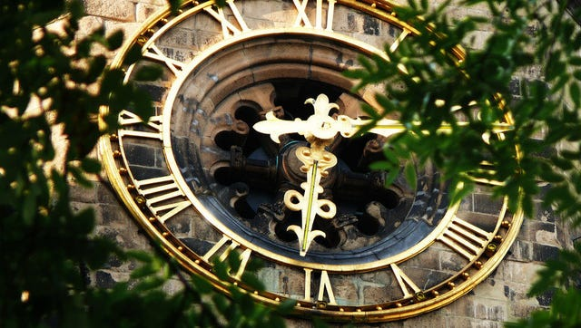 The passage of time is a reminder of mortality, which can only be transcended through God.