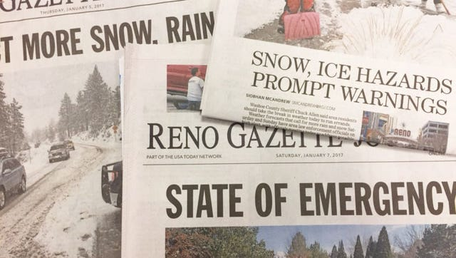 The Reno Gazette-Journal is your go-to source for information as the region prepares for flooding.