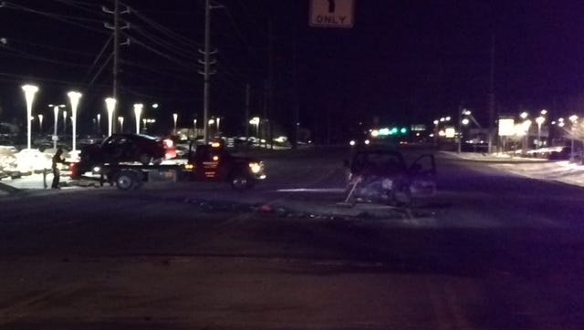 A woman is dead after a crash in Carmel early Sunday morning.