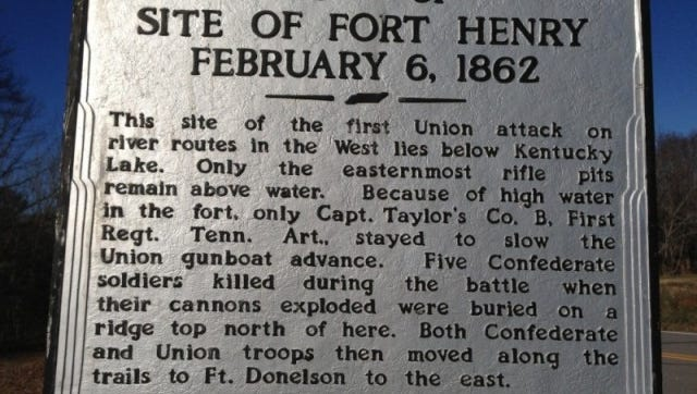 Fort Henry historical marker