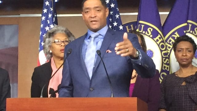 Rep. Cedric Richmond, D-La., chairman of the Congressional Black Caucus, said he will attend President-elect Donald Trump's swearing-in Friday.