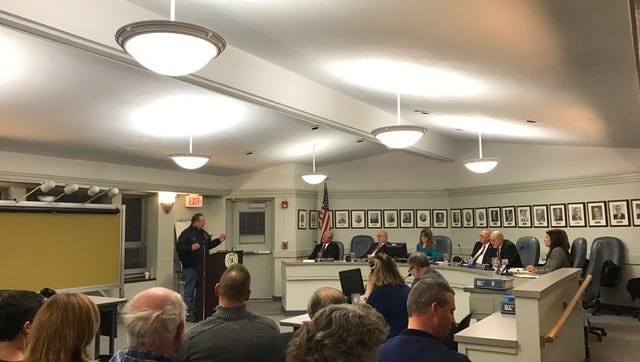 Residents filled the board room at Webster Town Hall on Thursday to discuss a recent change in emergency coverage in Webster.