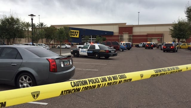 Gunfire erupted at a Best Buy in Avondale on Feb. 27, 2017.