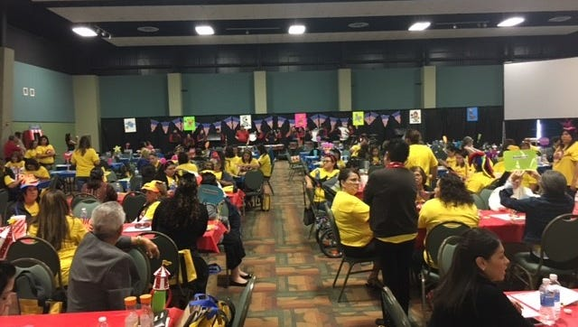 The Education Service Center, Region 2 hosted the 32nd annual Parent Involvement Conference Feb. 22 at the Richard M. Borchard Regional Fairgrounds in Robstown.   The conference targets brought more than 700 parents, educators and parent involvement coordinators together.