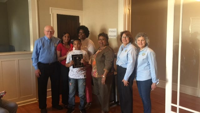 Dr. Kenneth LaFleur, Sherline Thomas Boutte's daughter and grandson, Boutte, Lena Charles, Yvonne Normand, Gloria Nye