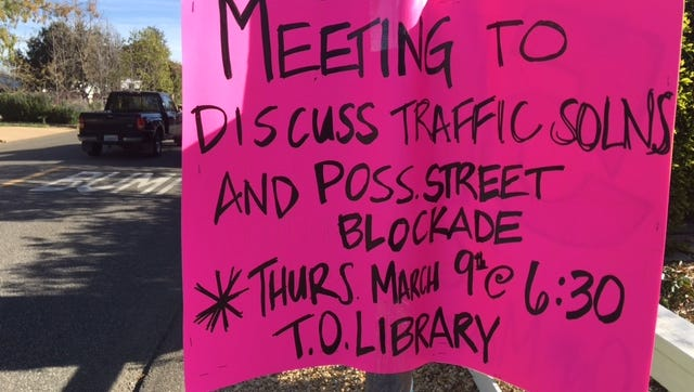 Residents of Waverly Heights in Thousand Oaks will meet Thursday night at the Thousand Oaks Library to discuss their concerns with city officials about the flood of cars that drive through their bedroom community daily.