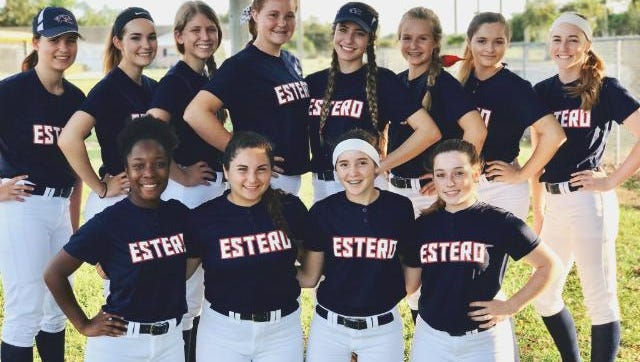 The Estero softball team is off to a 6-1 start this season, with freshman pitchers Lauren Hobbs and Alex Salter leading the way.