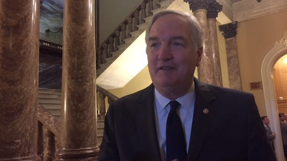 Sen. Luther Strange, R-Ala., said he was excited to attend a NASA bill signing Tuesday at the White House.