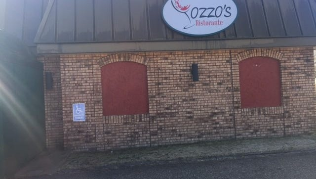 Iozzo's Italian Restaurant shuttered its doors unexpectedly on Tuesday, after a post on Facebook by Georgie Iozzo.