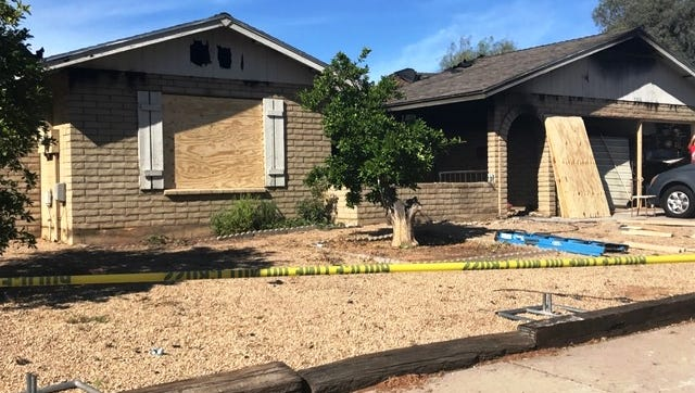 Four people were killed in an early-morning house fire in Glendale.