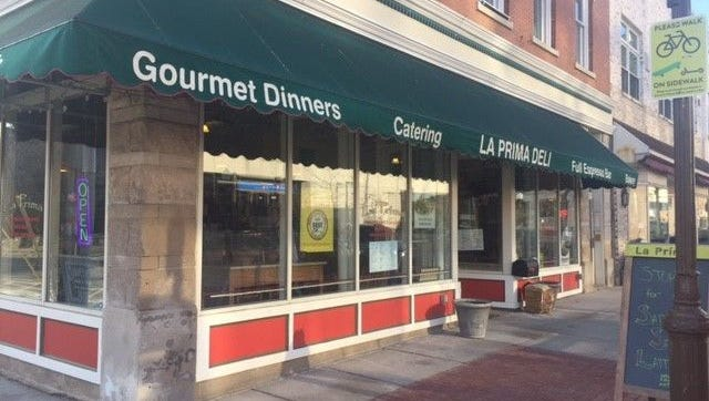 Laura Schulte/USA TODAY NETWORK-Wisconsin La Prima Deli is one of the restaurants offering price-fixed meals throughout Downtown Wausau Dining Week. La Prima Deli is one of the restaurants that will be offering price fixed meals throughout Downtown Wausau Dining Week.