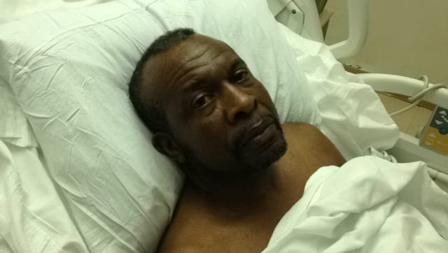 Roy Middleton was shot by Escambia County Sheriff's Office deputies in July 2013. He is pictured in hospital directly following the shooting.