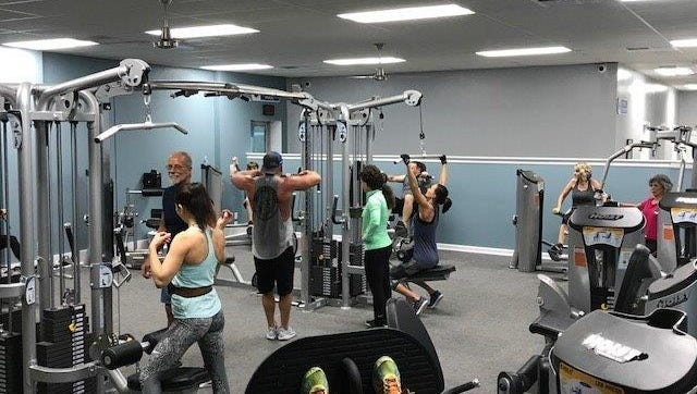 The circuit training facility inside Pensacola Athletic Center is one of the upgraded elements to the facility now under new ownership.