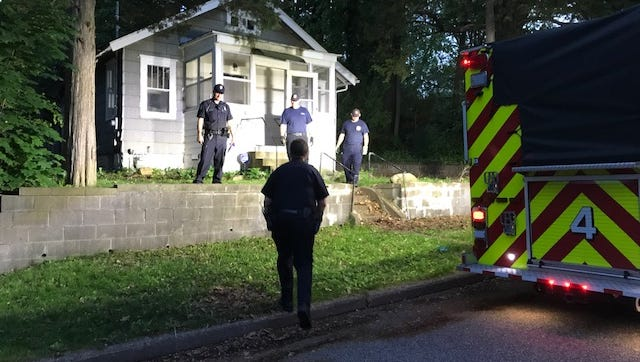 Battle Creek police arrested a 57-year-old man after a four-hour stand off Saturday.