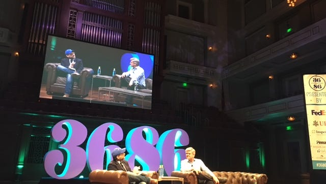 Steve Case, AOL co-founder and venture capital investor, speaks with TechCrunch's Jon Schieber at 36|86 Entrepreneurship and Technology Conference
