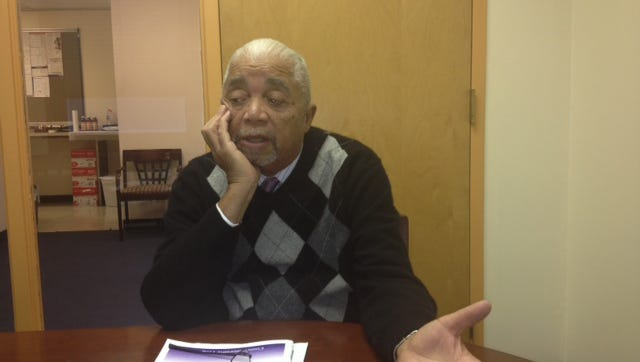 Former New Jersey Assemblayman William Payne as he talks about the Amistad Act, and his disappointment with its progress.