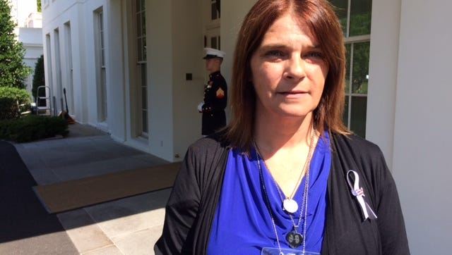 Michelle Wilson-Root at the White House Wednesday