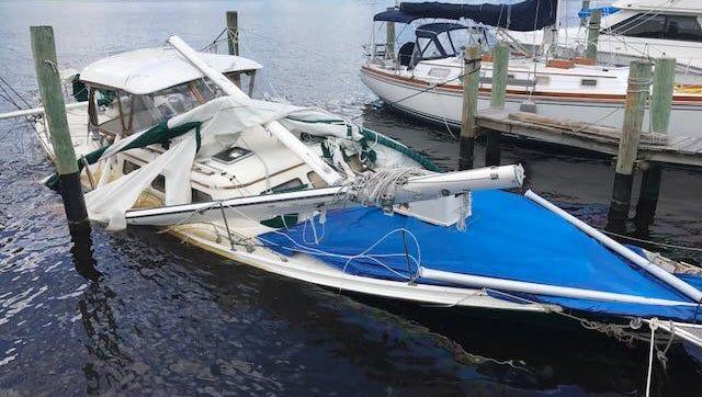 Boat fuel leak in Stuart
