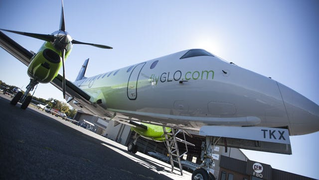 GLO Airlines said it will pause operations July 15, 2017 while seeking a new aircraft operator.