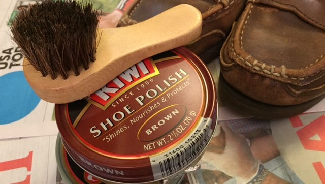 Line up your shoes and polish and get a shine to be proud of.