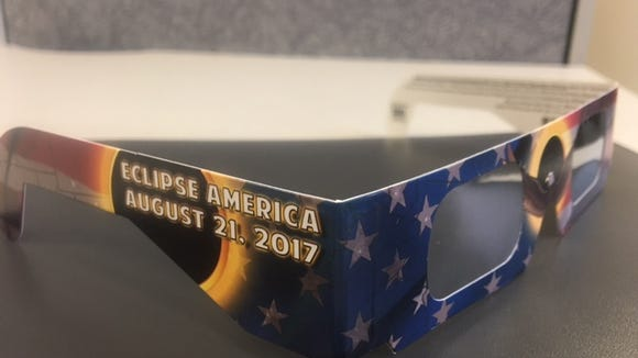 Eclipse viewing glasses are a hot commodity in WNC.