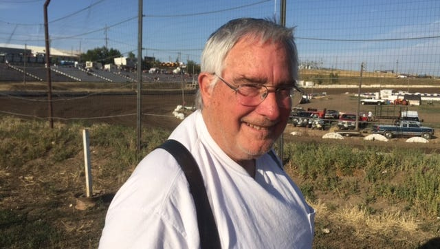 Electric City Speedway owner/manager Dan Mann.