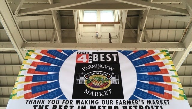 """The Farmington farmers market topped a local TV station's """"Best of"""" list."""